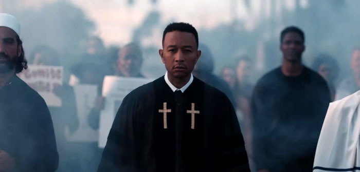 John Legend rallies for social justice on new song Preach