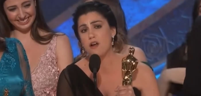 Rayka Zehtabchi talks about winning the  Oscar and being an Iranian/American