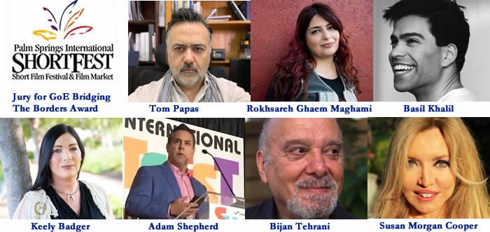 CWB Jury & Nominees for 2019 GoE Bridging The Borders Award at ShortFest