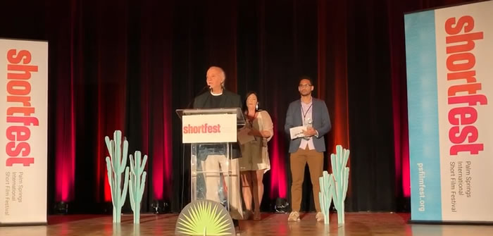 Ahmed's Song, wins GoE Bridging The Borders Award at SHORTFEST