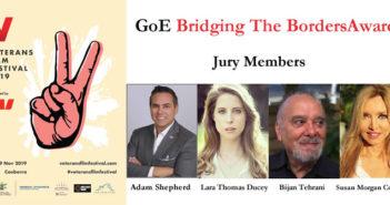 GoE Bridging The Borders Award at Veterans Film Festival, Australia
