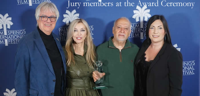 Advocate wins GoE Bridging The Borders Award at Palm Springs IFF